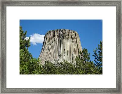 Devil's Tower Framed Print