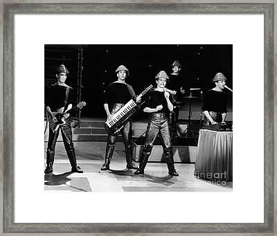 Devo 1980 Framed Print