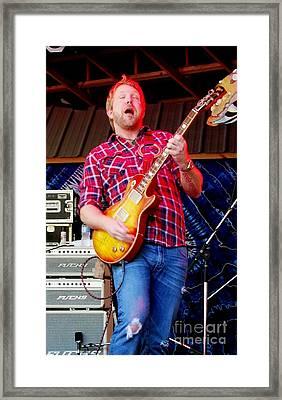 Devon Allman Framed Print by Angela Murray