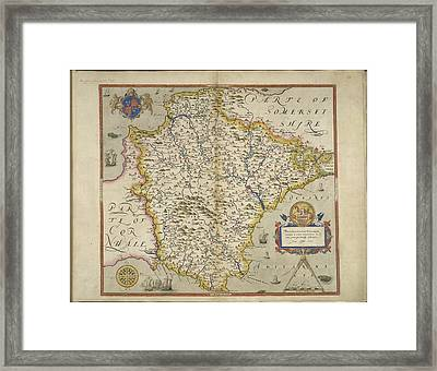 Devon Framed Print by British Library
