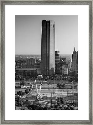Okc_may_2014-3 Framed Print by Cooper Ross