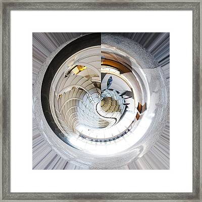 Devos Place Concept Grand Rapids Michigan Framed Print by Evie Carrier