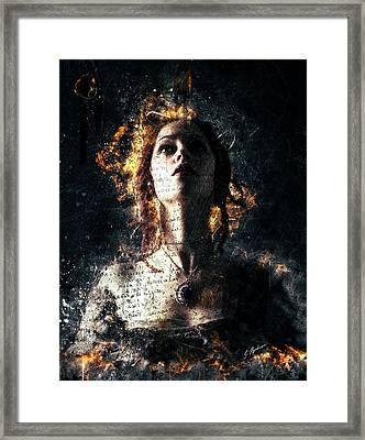 Devotion Framed Print by Gary Bodnar