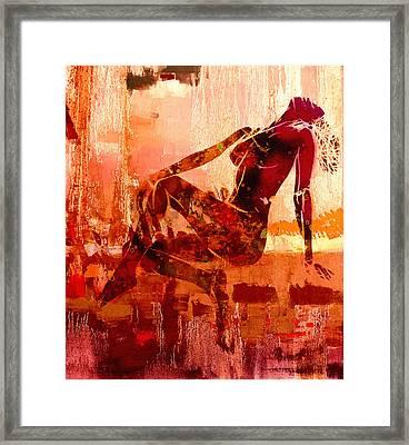 Devotion Framed Print by Steve K