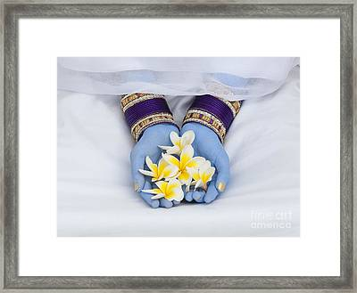 Devotional Offerings  Framed Print