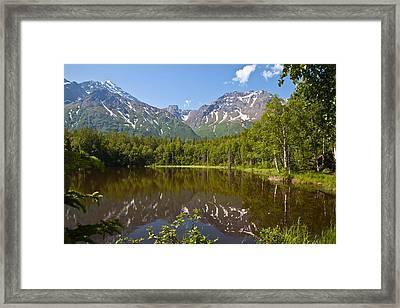 Dew Lake  Framed Print