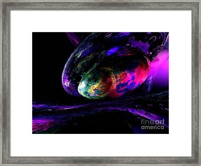 Dew Of A Rainbow Framed Print by Alexander Butler