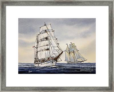 Dewaruci Framed Print by James Williamson