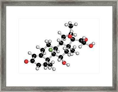 Dexamethasone Glucocorticoid Drug Framed Print