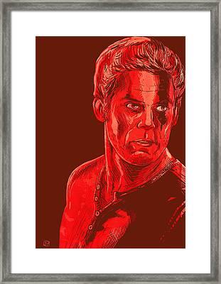 Dexter Framed Print by Giuseppe Cristiano