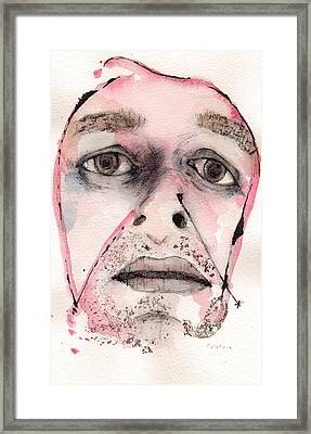 Dexter Morgan As The Dark Passenger Framed Print by Mark M  Mellon
