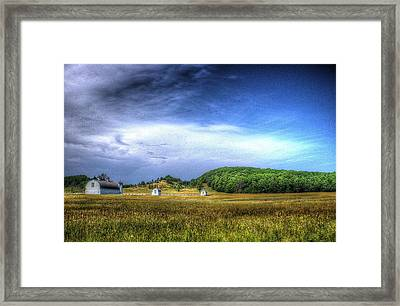 D. H. Day Farm Framed Print