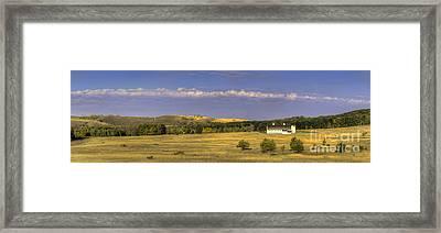 Dh Day Farm Framed Print