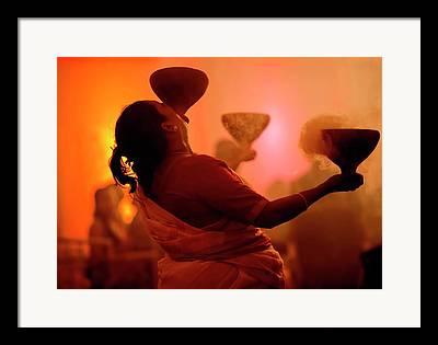 Durga Puja Framed Prints