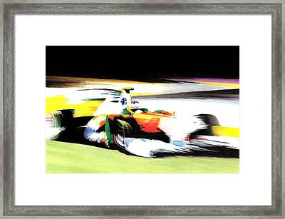 Di Resta Framed Print by Lyle Brown