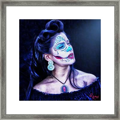 Dia De La Muerta Framed Print by Timothy Ramos