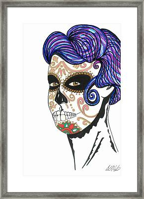 Dia De Los Muertos Framed Print by Carlos Martinez