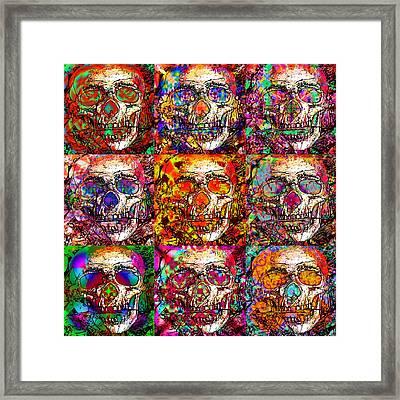 Dia De Los Muertos Framed Print by Devalyn Marshall