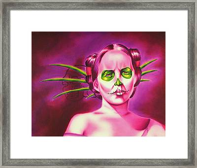 Dia De Framed Print by Robert Martinez