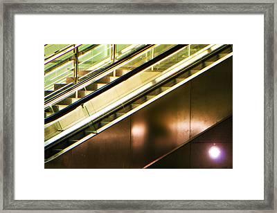 Diagonal And Counterpoint Framed Print by Li   van Saathoff