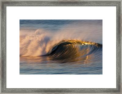 Framed Print featuring the photograph Diagonal Blur Wave 73a8081 by David Orias