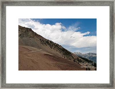 Framed Print featuring the photograph Diagonal Vision by Charles Kozierok