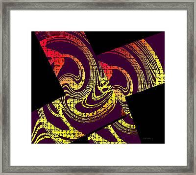 Diagonals Framed Print by Mario Perez