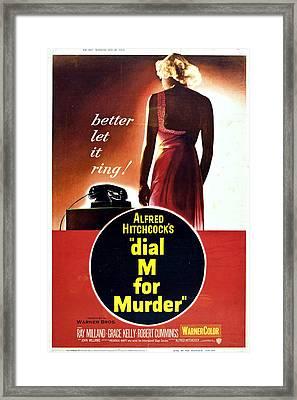 Dial M For Murder - 1954 Framed Print