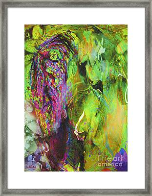 Dialogue 49 - Spring Romantic Framed Print