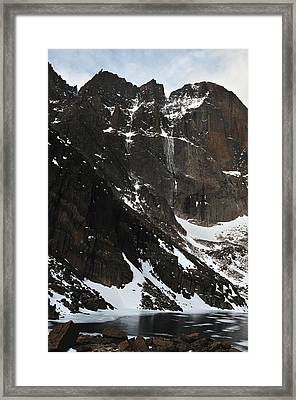 Diamond Avalanche Framed Print