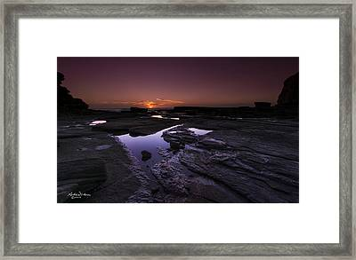 Diamond Day Framed Print