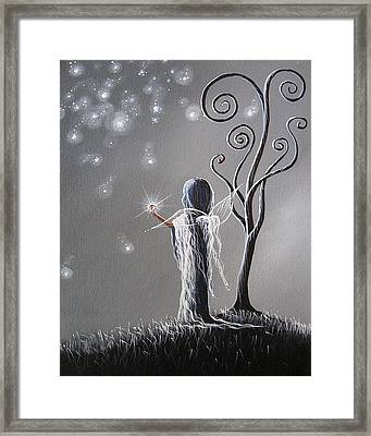 Diamond Fairy By Shawna Erback Framed Print