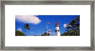 Diamond Head Lighthouse, Oahu, Hawaii Framed Print by Panoramic Images