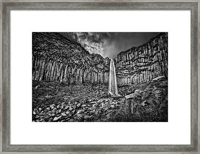 Diamond In The Rough Framed Print by Evelina Kremsdorf