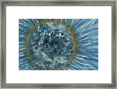 Diamond Pattern Framed Print