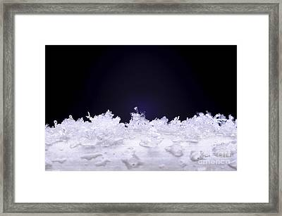 Diamond In The Rough Framed Print by Luke Moore