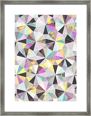 Diamond Framed Print by Laurence Lavallee