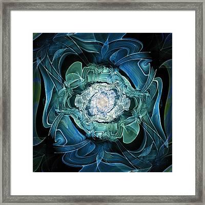 Diamond Nest Framed Print