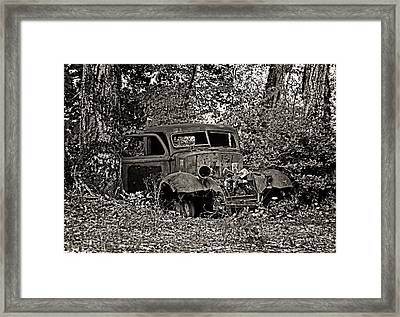 Framed Print featuring the photograph Diamond T by Betty Depee