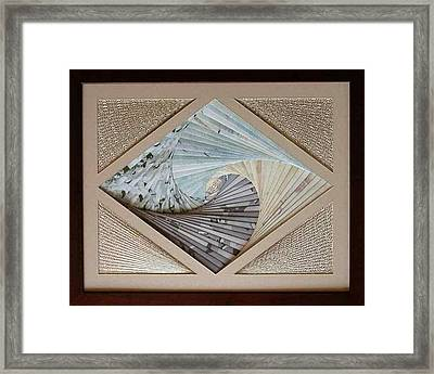 Framed Print featuring the mixed media Diamonds Are Forever by Ron Davidson