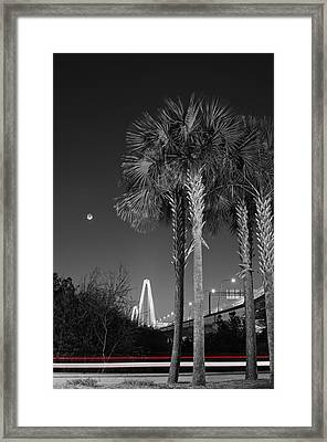 Diamonds In The Distance Framed Print by Andrew Crispi