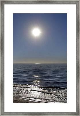 Diamonds On The Horizon Framed Print