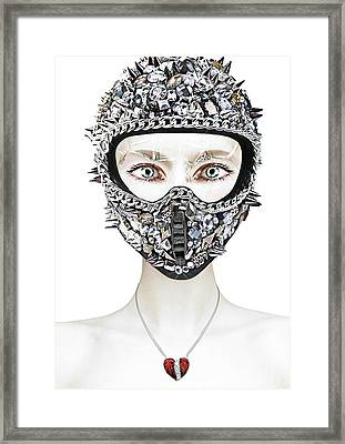 Diamonds Framed Print by Yosi Cupano