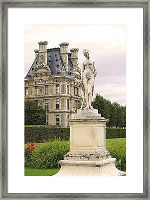 Diana Huntress Tuileries Garden Framed Print