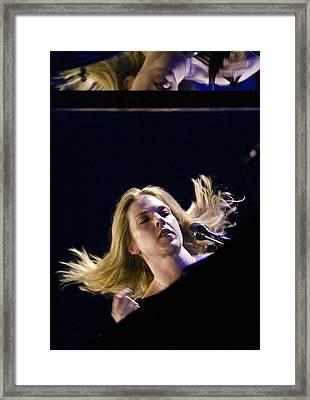Diana Krall Framed Print