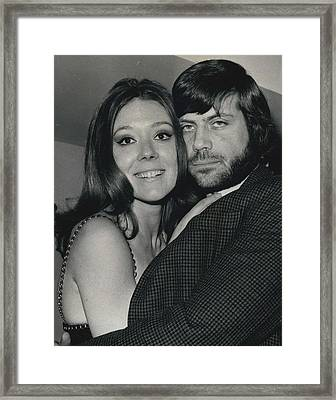 Diana Rigg And Oliver Reed To Star In Film �the Framed Print by Retro Images Archive