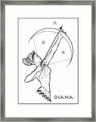 Diana Framed Print