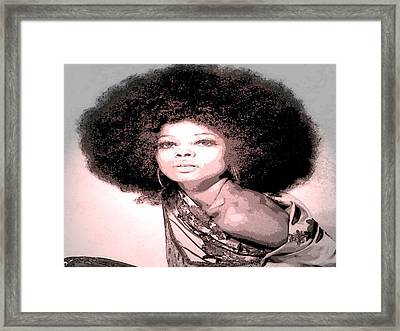 Diana Framed Print by Tony Ashley