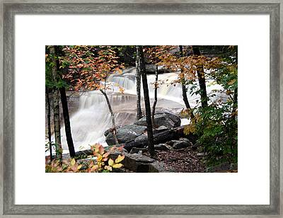 Diana's Bath Dad's View Framed Print by Brett Pelletier