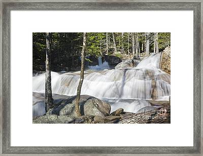 Dianas Bath - North Conway New Hampshire Usa Framed Print by Erin Paul Donovan